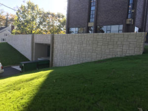 SUNY Cortland Retaining Wall Project